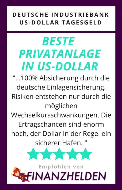 IKB Dollar Anlage Testsiegel Finanzhelden.org