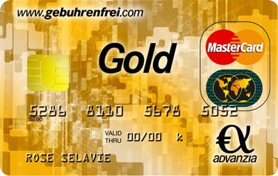 Advanzia Gold Mastercard