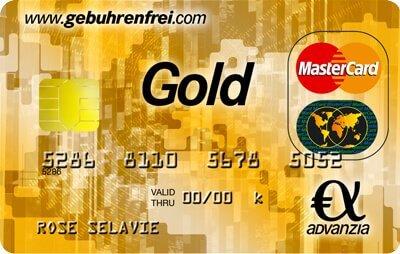 Advanzia Gold Mastercard