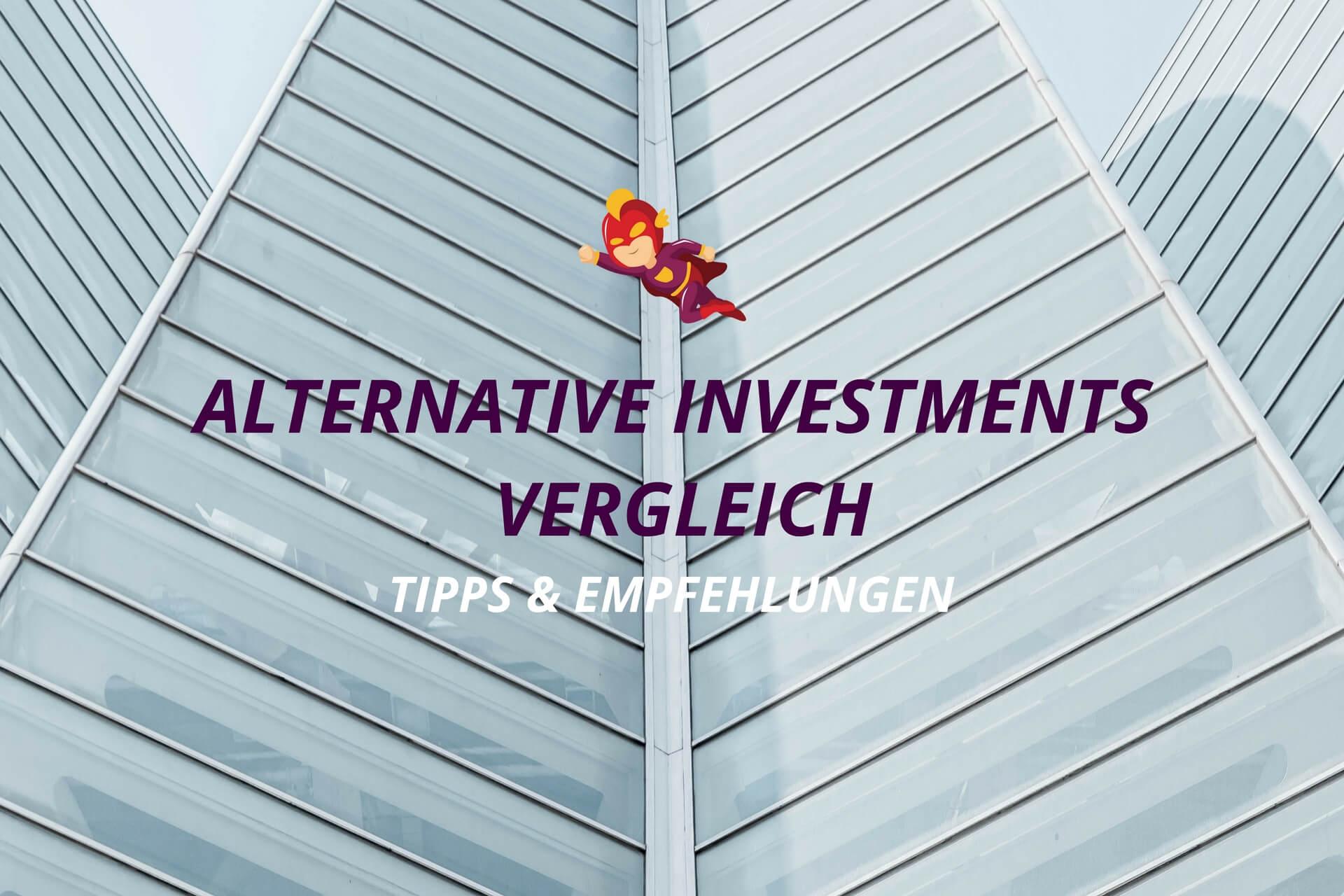 Alternative Investments Vergleich - Finanzhelden.org