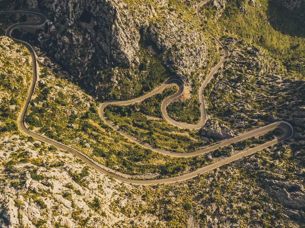 Passstraßen für Motorradfahrer