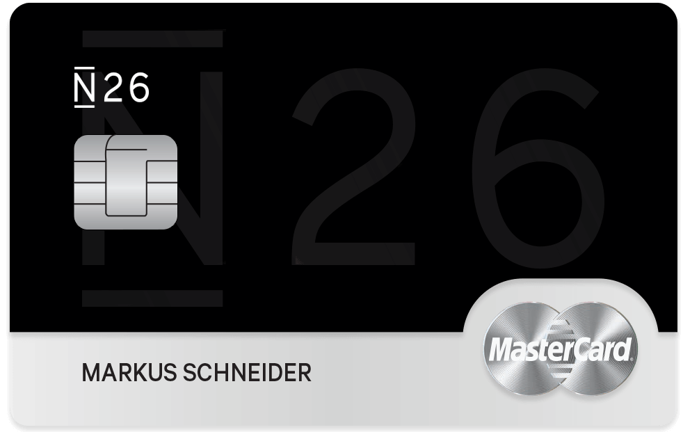 N26 Black Kreditkarte
