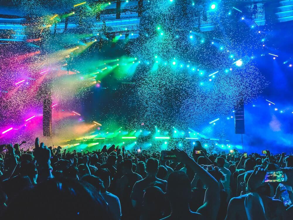 Ticketversicherung für ein Konzert