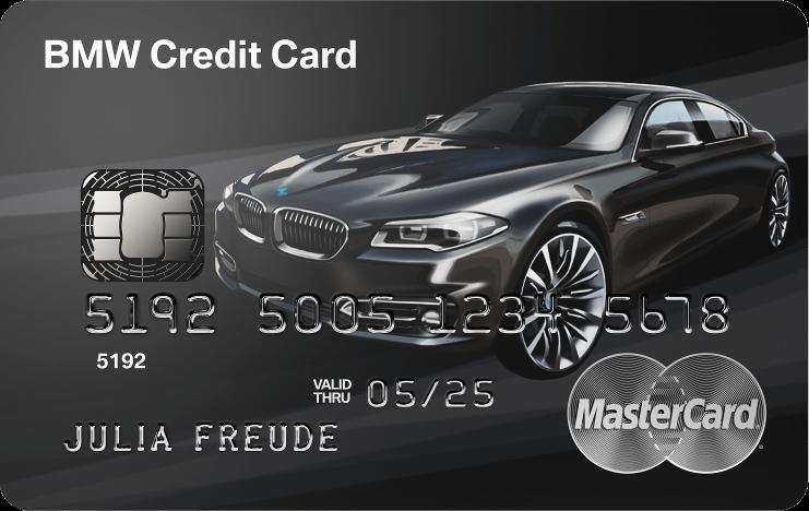 BMW Kreditkarte Limited Edition