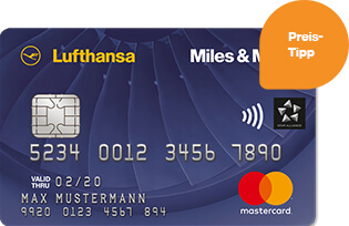 Lufthansa Miles and More Kreditkarte Blue