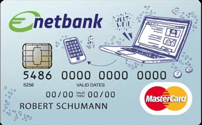 Netbank Prepaid Kreditkarte für Schüler