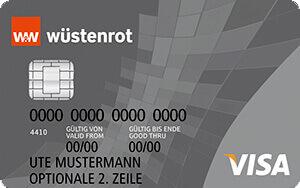 Wüstenrot Prepaid Visa